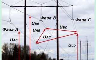 Схема высоковольтного учета электроэнергии