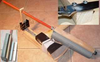 Чертеж точилки для ножей для самостоятельного изготовления