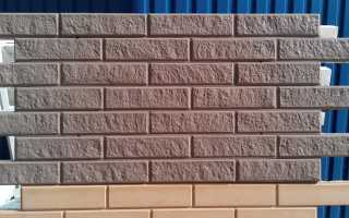 Как установить фасадные панели под кирпич