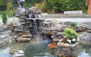 Пруд с водопадом своими руками пошаговая инструкция