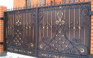 Только грунтовка металлических ворот