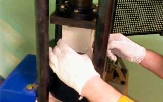 Физико механические испытания кирпича