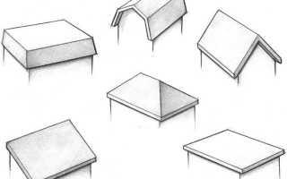 Варианты дачной крыши