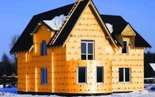 Пеноплекс отделка фасада дома