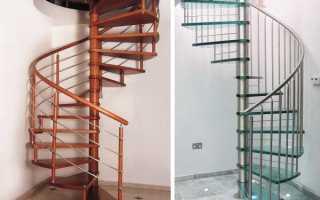 Простая лестница на второй
