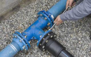 Прокладка центрального водопровода к частному дому