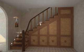 Простые лестницы на 2 этаж
