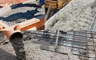 Класс бетона для фундамента частного дома