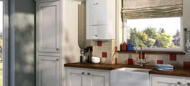 Двухконтурный газовый котел на кухне