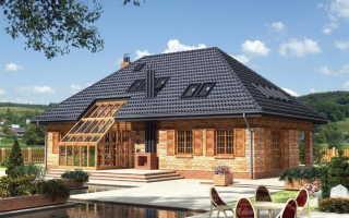 Вальмовая крыша чертежи