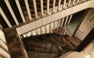 Проем под лестницу на второй этаж размеры
