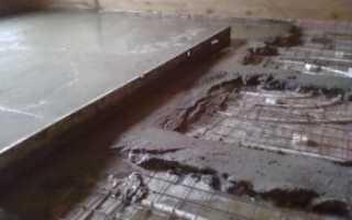 Песчано цементная стяжка м 100