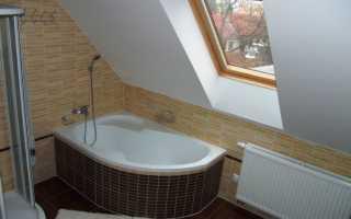 Ванная на крыше