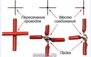 Схема кабеля электрическая