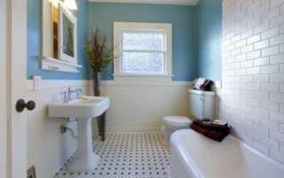 Бюджетный ремонт в ванной фото
