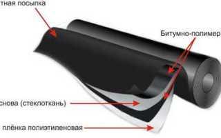 Битумные рулонные кровельные материалы