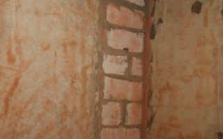 Штукатурка перед шпаклеванные стены