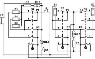 Схема двухкомфорочной электроплиты мечта