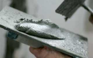 Штукатурка песок цемент норма расхода