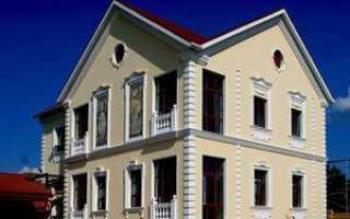 Декоративные элементы на фасаде