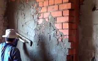 Штукатурка наружных стен без маяков