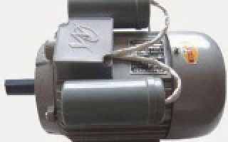 Схема конденсаторного электродвигателя
