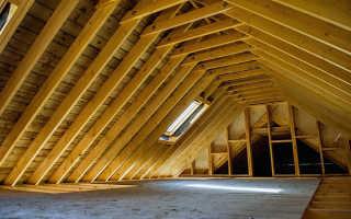 Варианты мансардных крыш частных домов