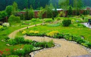 Идеальный садовый участок