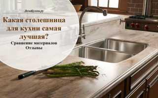 Виды столешницы для кухни сравнение материалов