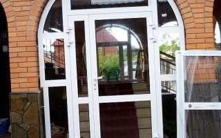 Виды пластиковых дверей в частный дом