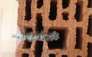 Анкера для силикатного кирпича