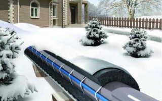 Провод от замерзания водопровода