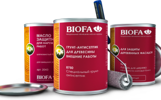Универсальная твердая грунтовка biofa