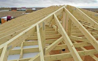 Вальмовая крыша пропорции