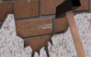 Штукатурка по сетке кирпичной поверхности
