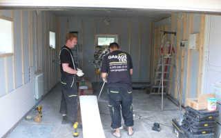 Варианты ремонта гаража