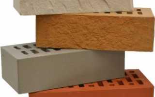 Стандартная ширина облицовочного кирпича
