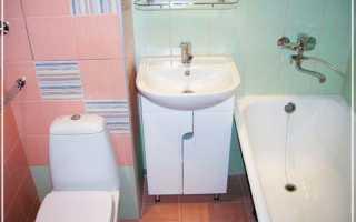 Варианты недорого ремонта ванной