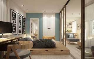 Варианты ремонта однокомнатной квартиры 40 кв м