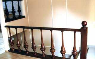 Расстояние между балясинами лестницы
