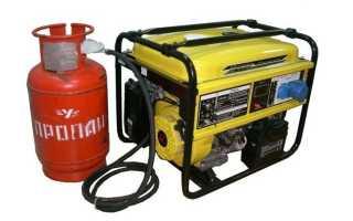 Домашний газовый генератор