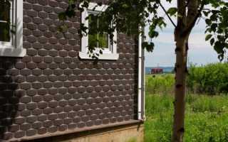 Установка фасадной плитки технониколь