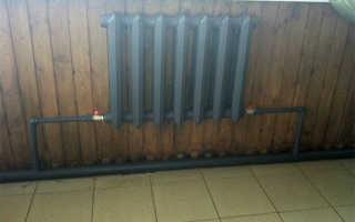 Схема подключения отопления в частном одноэтажном доме