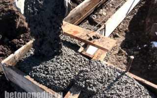 Какой маркой бетона заливать фундамент