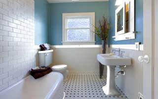 Бюджетная ванная комната ремонт