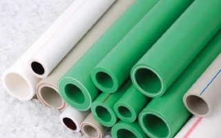Пропиленовые трубы для водопровода