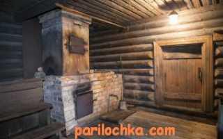 Размеры печей для бани из металла