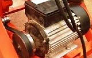 Схема запуска асинхронного электродвигателя