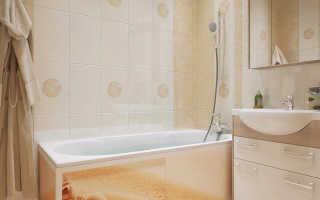 Профиль для экрана ванны