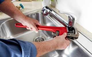 Установить смеситель на кухне самостоятельно